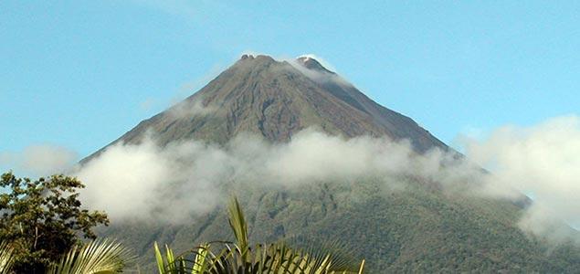 Вулкан в Коста-Рике