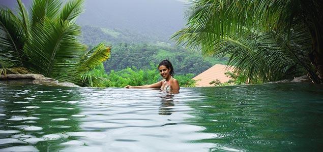 Waterfall of Costa-Rica