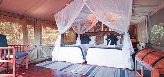Хижины в Кении