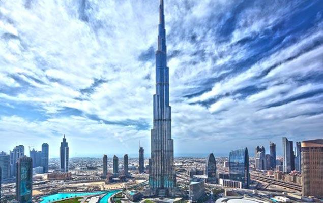 Башня халифа в Дубае