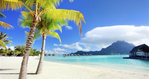 Where to fly this winter – Bora Bora Island